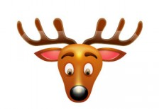 free-christmas -icon-set-reindeer-softicons