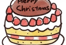 free-illustration-christmas-cake-irasuton