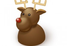 free-standard-new-year-icons-reindeer-softicons