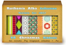 free-pattern-txt-set26christmas-ribbons