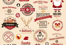 free-vector-christmas-labels-freedesignfile