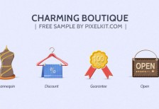 free-icons-boutique-set-pixelsdaily