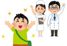 free-illustration-hospital_taiin-irasutoya