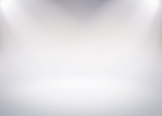 白背景の撮影スタジオ風の高画質な画像素材5枚セット