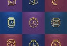 free-icons-time-set-behance
