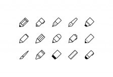 free-icons-writing-implements-medialoot