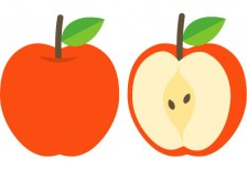 free-illustration-apple-0012-pictcan