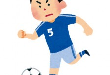 free-illustration-soccer-dribble2-irasutoya