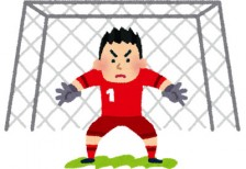 free-illustration-soccer-goalee-irasutoya