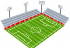free-illustration-soccer-stadium-irasutoya