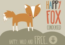 free-font-happy-fox-lauryngreen