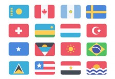 free-icons-195-flat-flags-pixyfree