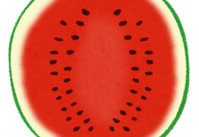 free-illustration-cut-fruit-watermelon-irasutoya