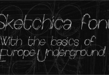 free-font-sketchica-fontspace
