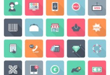 free-icons-flat-shopping-pack