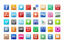 free-icons-volumetric-social-media-behance