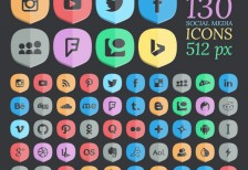 free-icons-130-hq-shaded-social-designbolts
