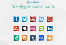 free-icons-15-polygon-social-behance