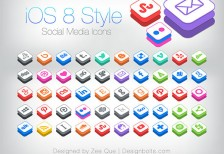 free-icons-ios8-style-social-media-designbolts