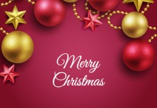free-template-merry-christmas-red-golden-balls-freepik