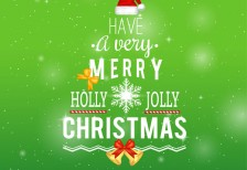 free-template-merry-christmas-typography-freepik