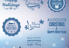 free-template-retro-christmas-greeting-badges-freepik