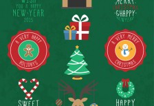 free-vector-christmas-design-elements-freepik