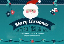 free-vevtor-retro-christmas-insignias-crazyleafdesign
