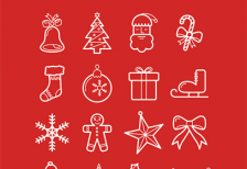 free-icons-beautiful-christmas-designbolts