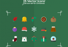free-icons-christmas-flat-icons-behance