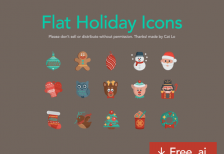 free-icons-holiday-catlo-dribbble