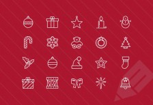 free-icons-thin-vector-christmas-medialoot