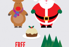free-illustration-santa-reindeer-christmas-pudding-evoluted