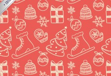 free-pattern-editable-christmas-vector-freepik