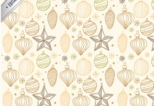 free-pattern-vintage-christmas-freepik