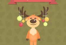 free-template-christmas-card-with-reindeer-freepik