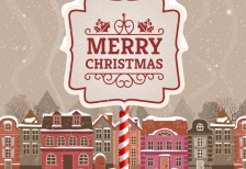 free-template-merry-christmas-card-urban-landscape-freepik