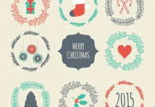 free-template-vintage-christmas-badges-freepik