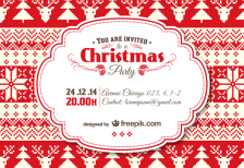 free-template-vintage-christmas-invitation-template-freepik