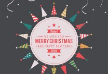 free-template-vintage-merry-christmas-label-freepik