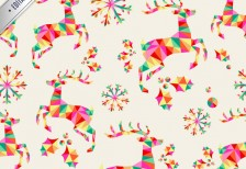 free-vector-pattern-vintage-christmas-freepik