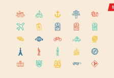 free-icons-travel-elements-vectorguild