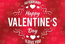 free-vector-template-valentinesday-typographic-bg-1001freedownloads