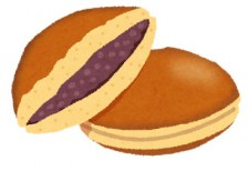 free-illustration-sweets-dorayaki-irasutoya
