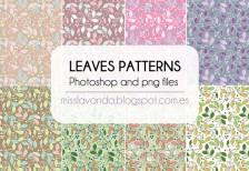 free-pattarns-leaves-patterns-photoshop-misslavanda