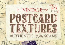 free-textures-authentic-1930s-vintage-postcard-spoongraphics
