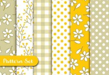 free-patterns-91415-yellow-retro-vecteezy