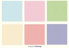 free-patterns-gingham-pattern-set-vecteezy