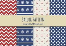 free-patterns-sailor-freepik