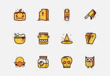 free-icons-halloween-pack-iconstore